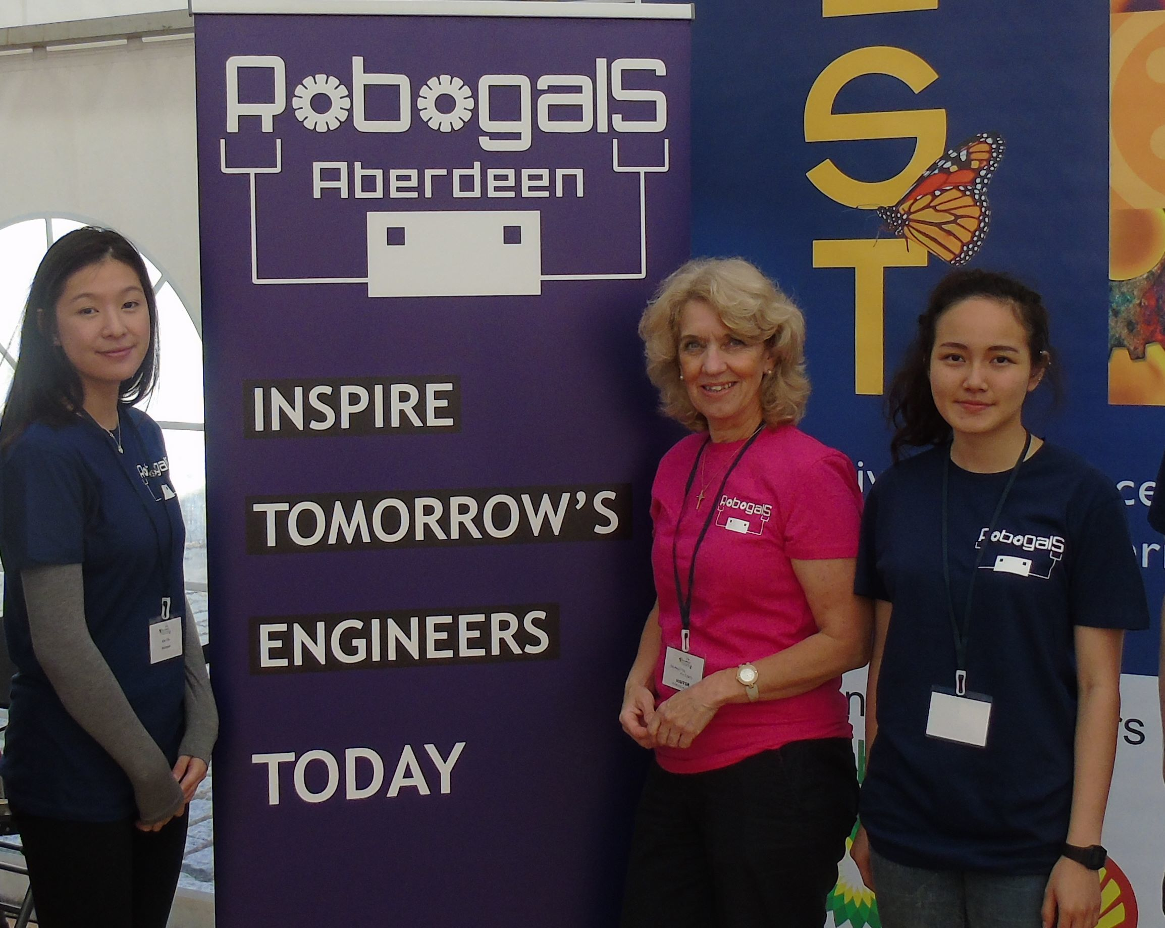 fl-r, Zoe Chu, Jeanette Forbes and Laura Ong