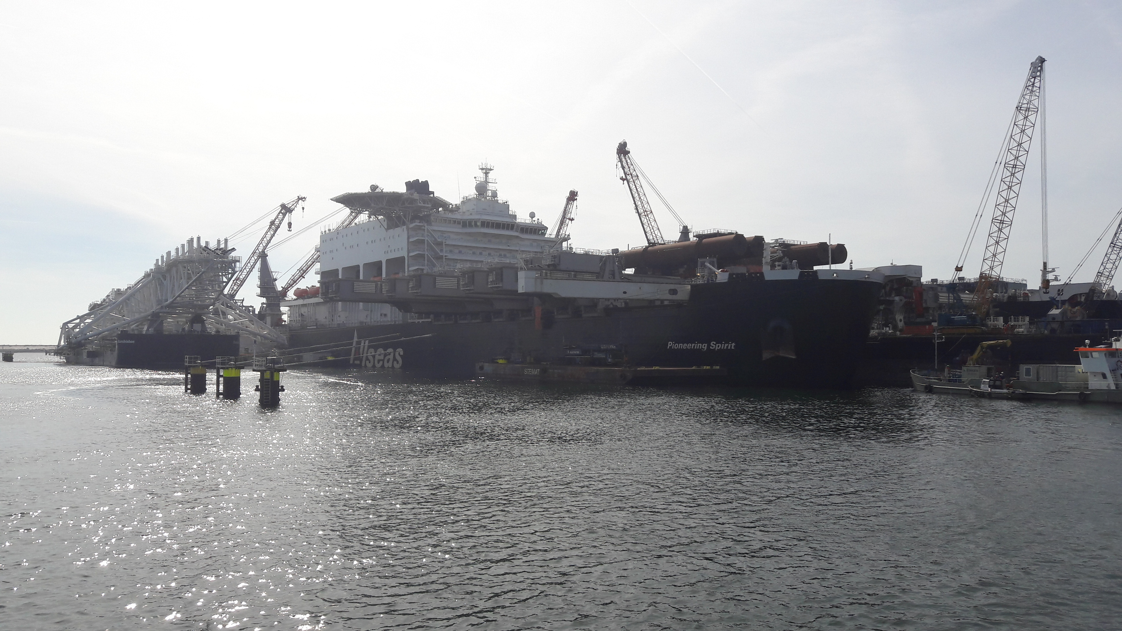 Interview: World's biggest ship will lift Brent Delta, just