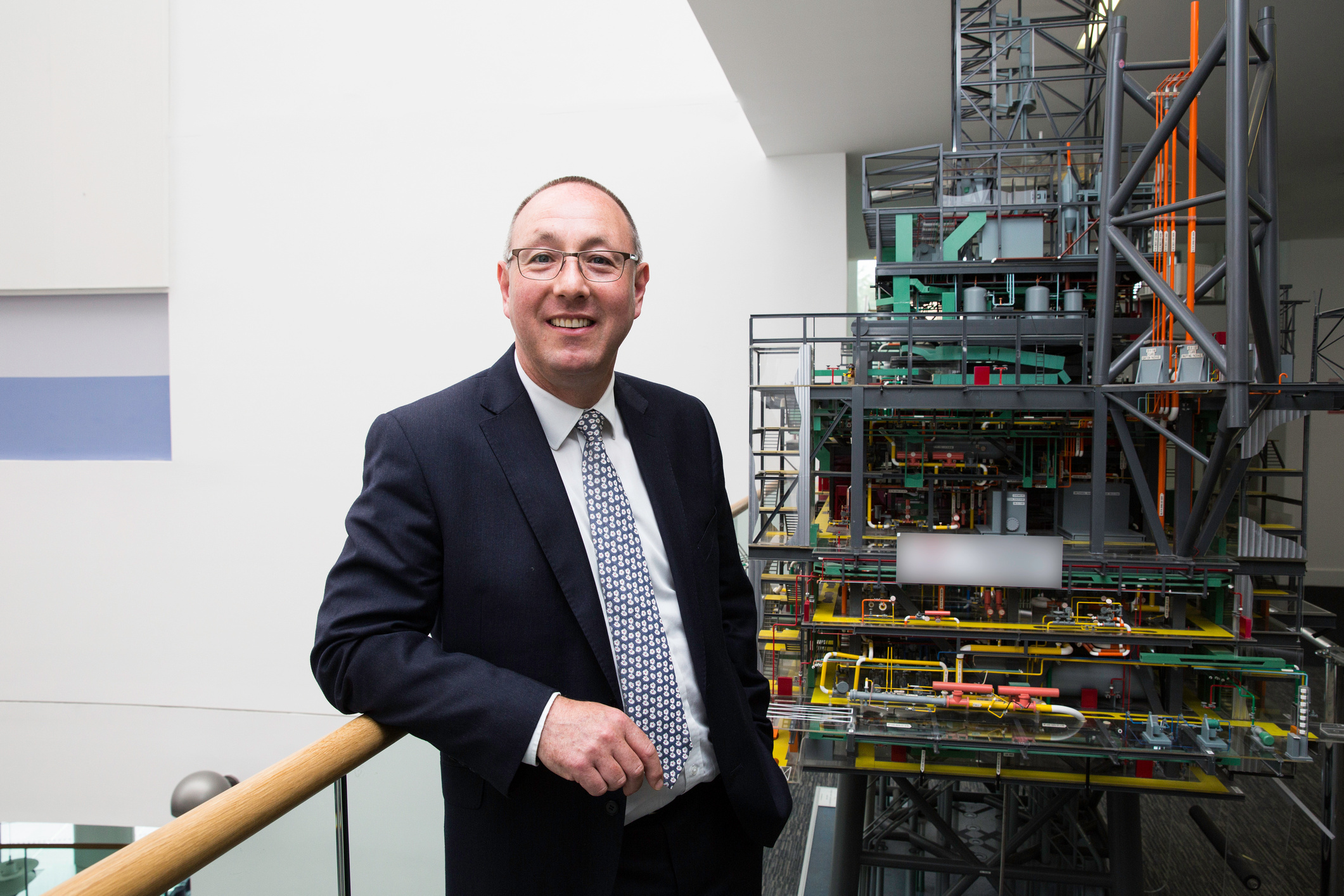 Paul de Leeuw, director of RGU's Oil and Gas Institute