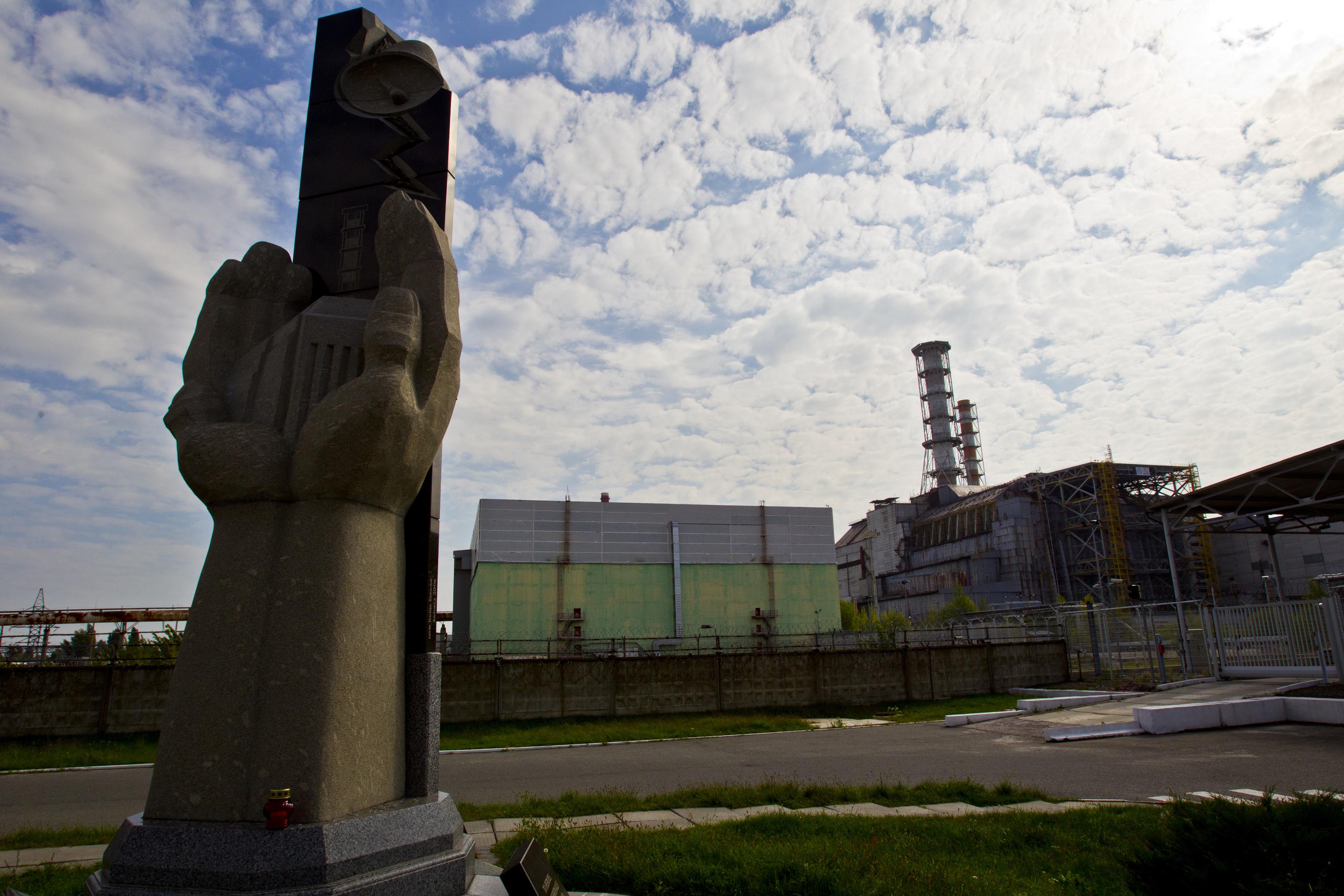 UKRAINE. Exclusion Zone. Chernobyl. Pripyat. - 2012.09.19. Chernobyl Nuclear Power Plant