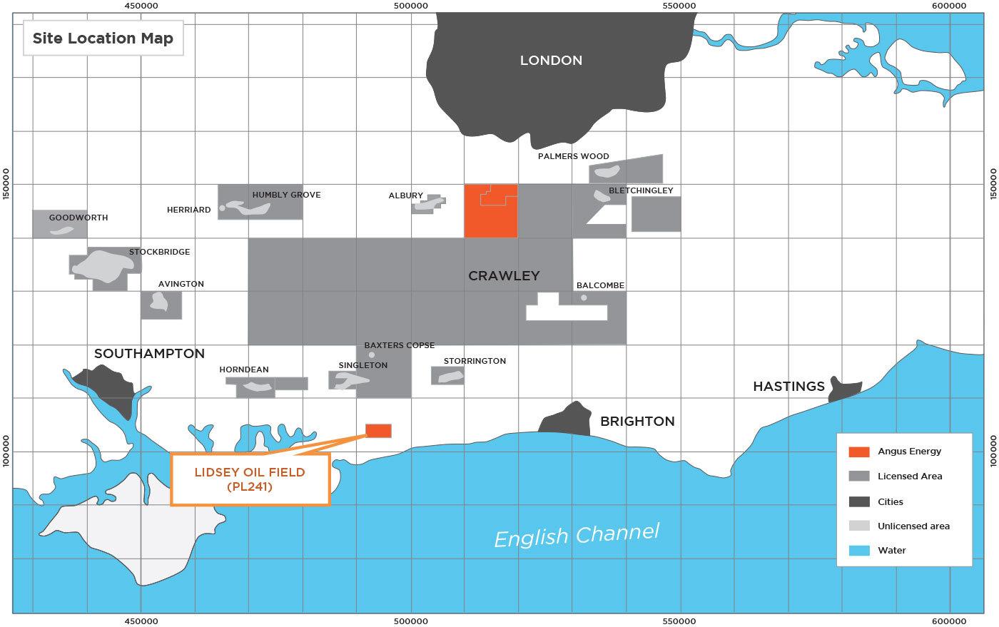 Angus Energy's Lidsey Oil Field