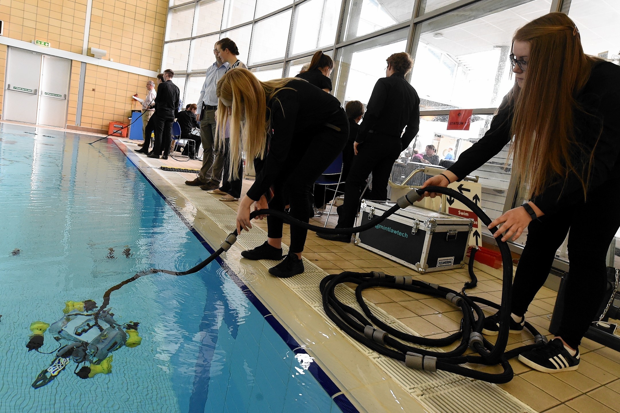 The Scottish Mate ROV competition at RGU