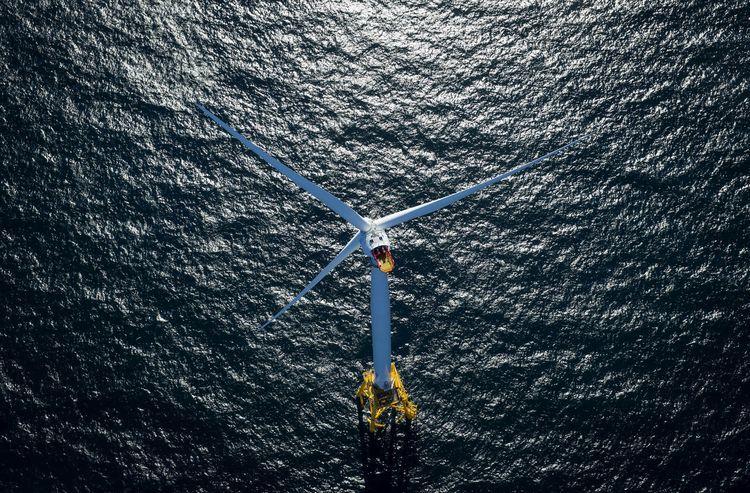 A GE-Alstom wind turbine.