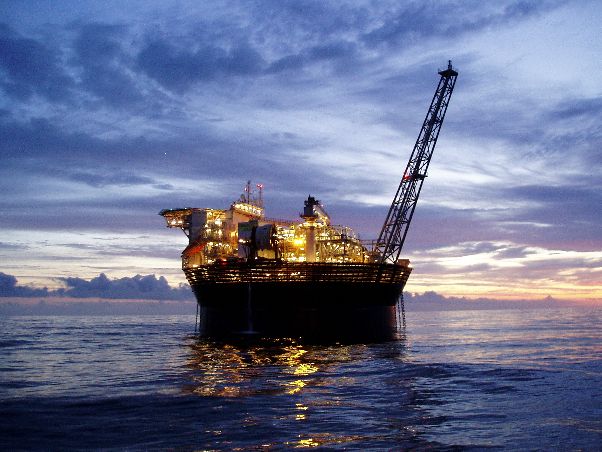 The Hummingbird FPSO at Spirit Energy's Chestnut field.