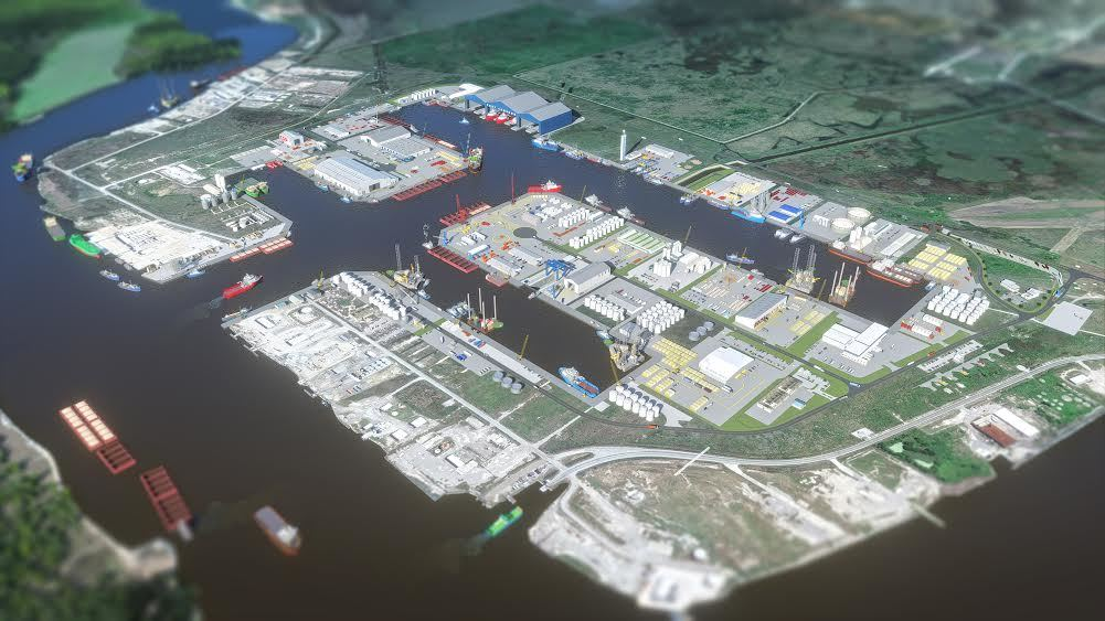 The plans for Port Cameron