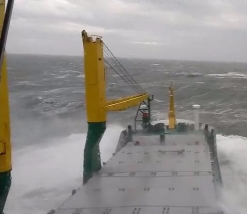Choppy North Sea