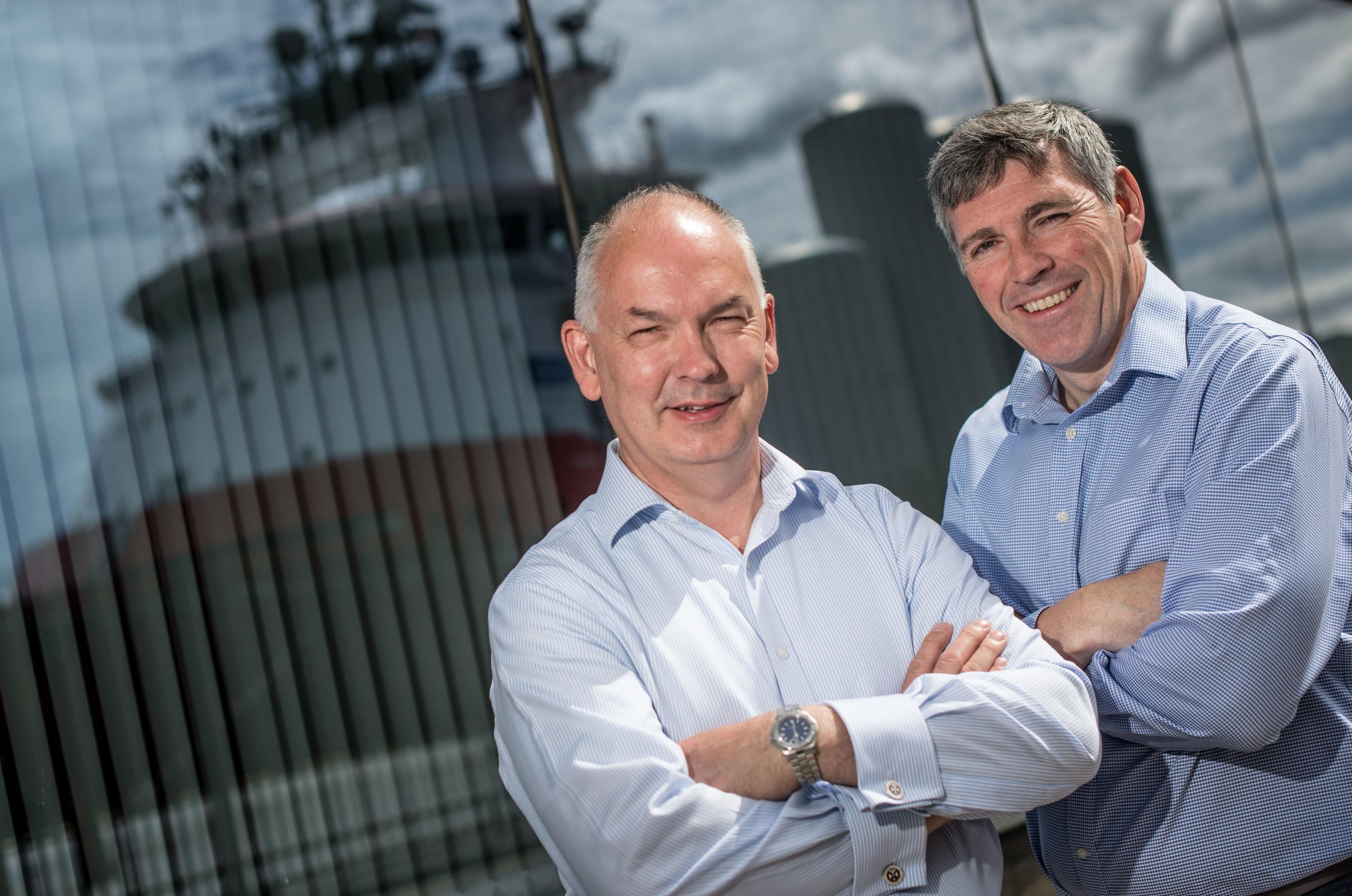 Nigel Robinson and Allan Grindlay