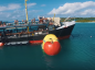 Video: Oil tanker transformed into Caribbean water park