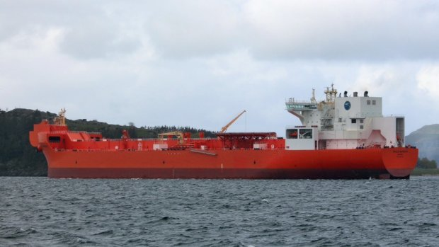 The shuttle tanker Eagle Barents currently on charter for Statoil from AET.