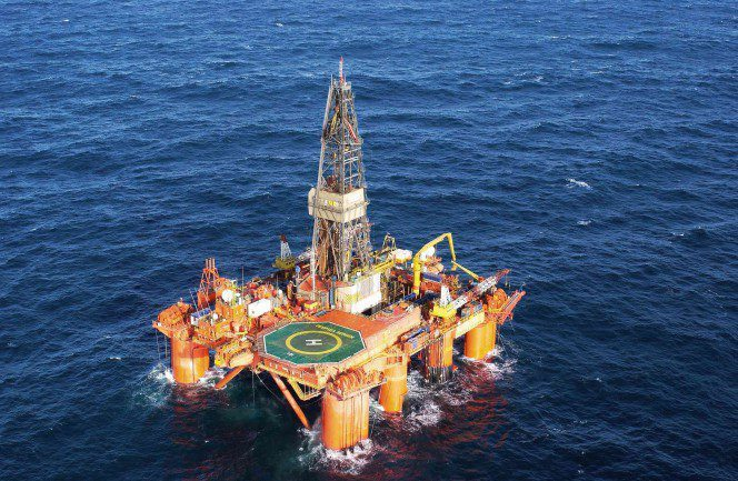 The well was drilled by the Deepsea Bergen rig