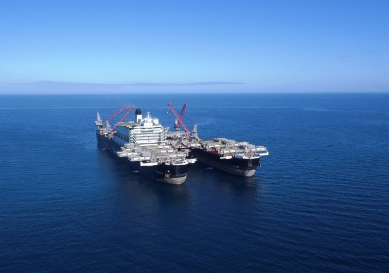 Allseas' Pioneering Spirit heavy lift vessel