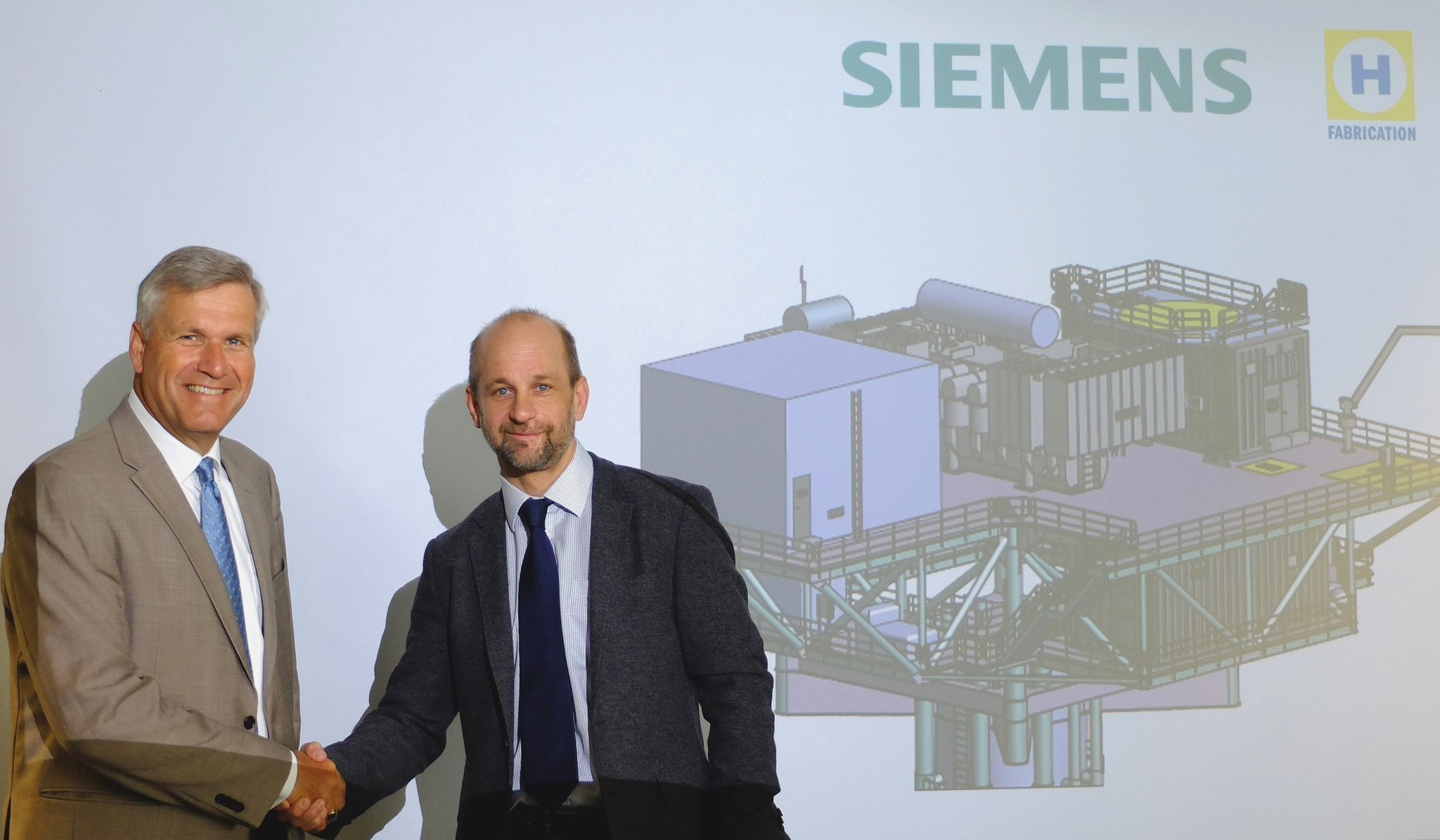 Siemens and Heerema have agreed a wind farm transformer construction deal.