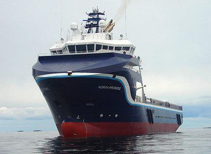 Gulfmark's North Promise vessel