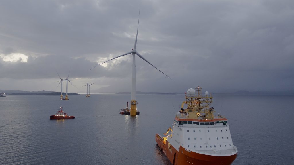 Equinor looking 'very closely' at North Sea as it plots big commercial floating wind project