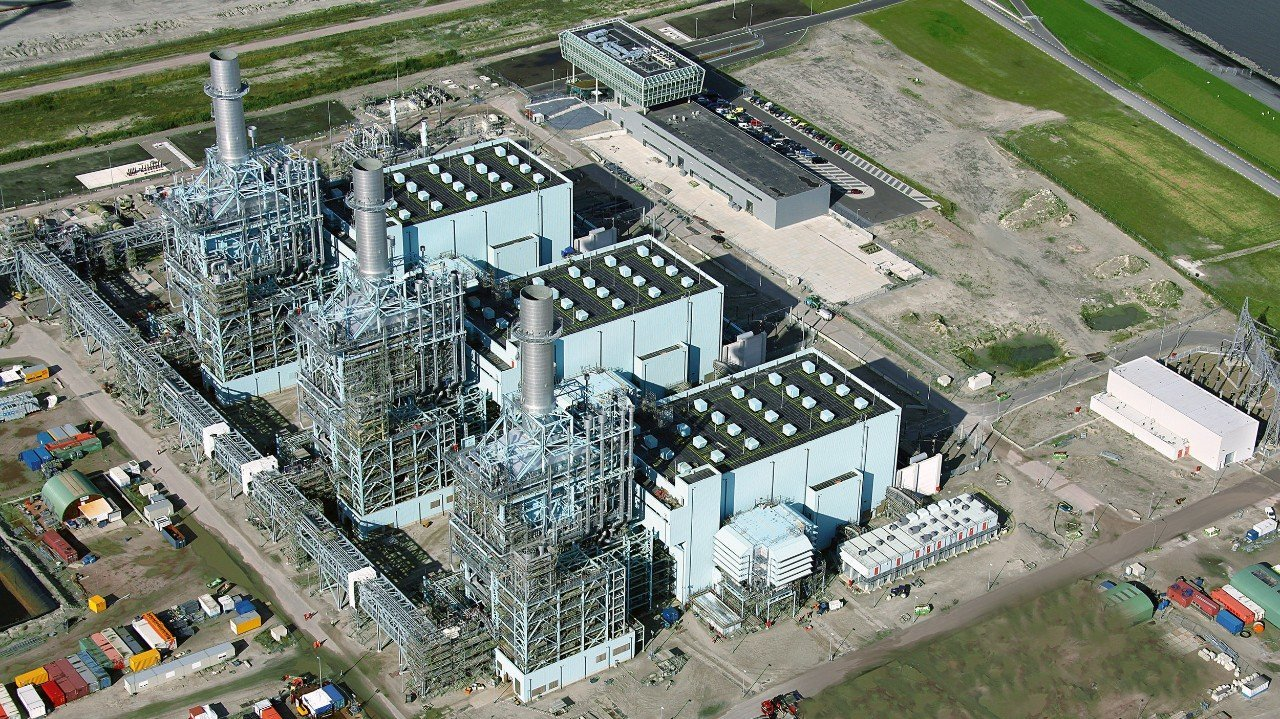 Vattenfall's gas power plant Magnum. (Photo: Koos Boertjens / Vattenfall)
