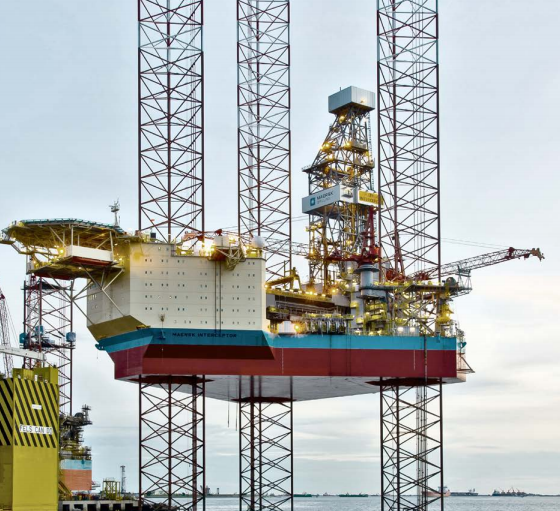 The Maersk Interceptor rig
