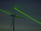 This impressive light-show is designed to show the benefits of green energy.
