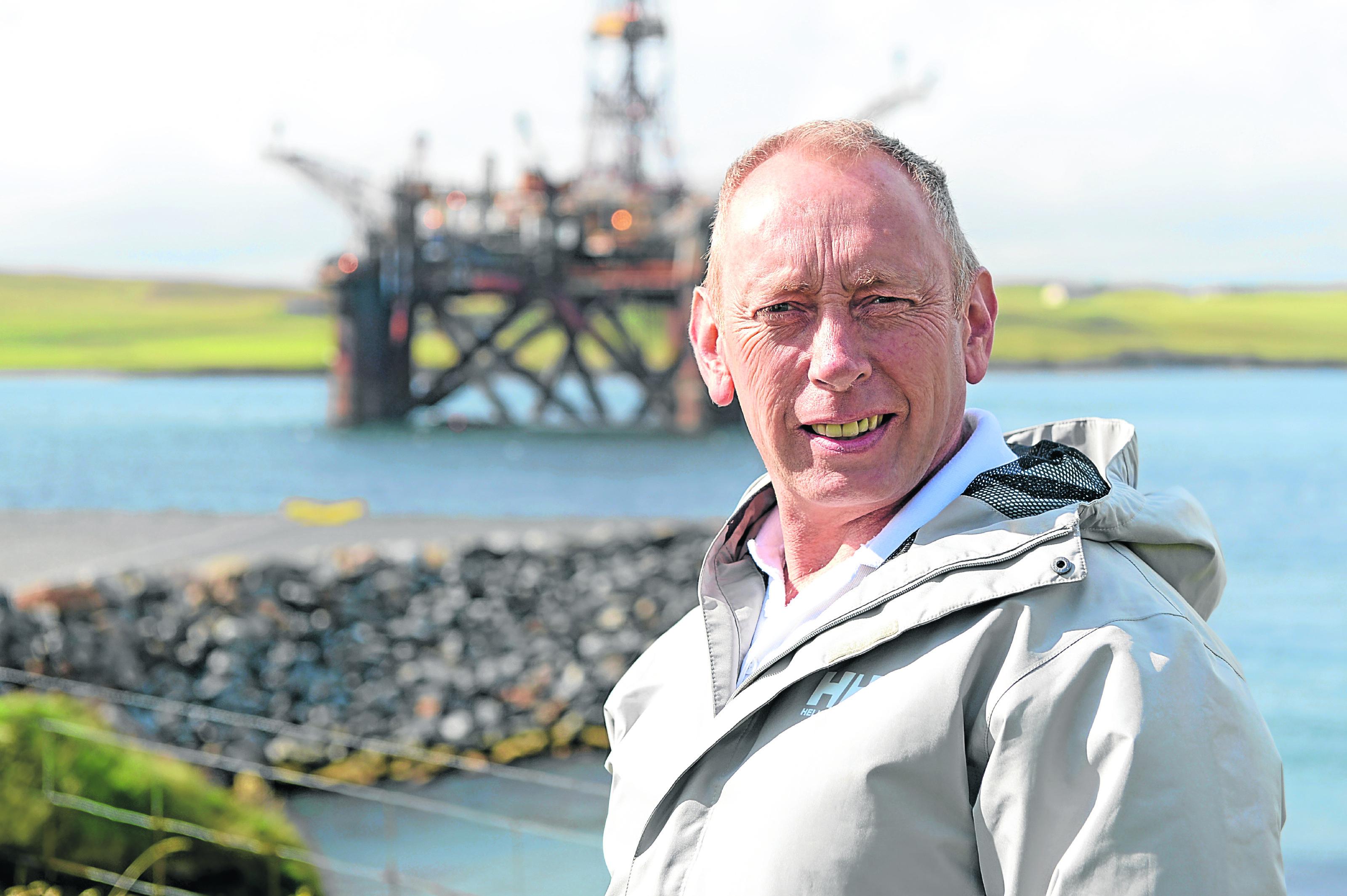 Small business focus on Finlay J MacBeath, who runs oil and gas service company Haldis Solutions Ltd.