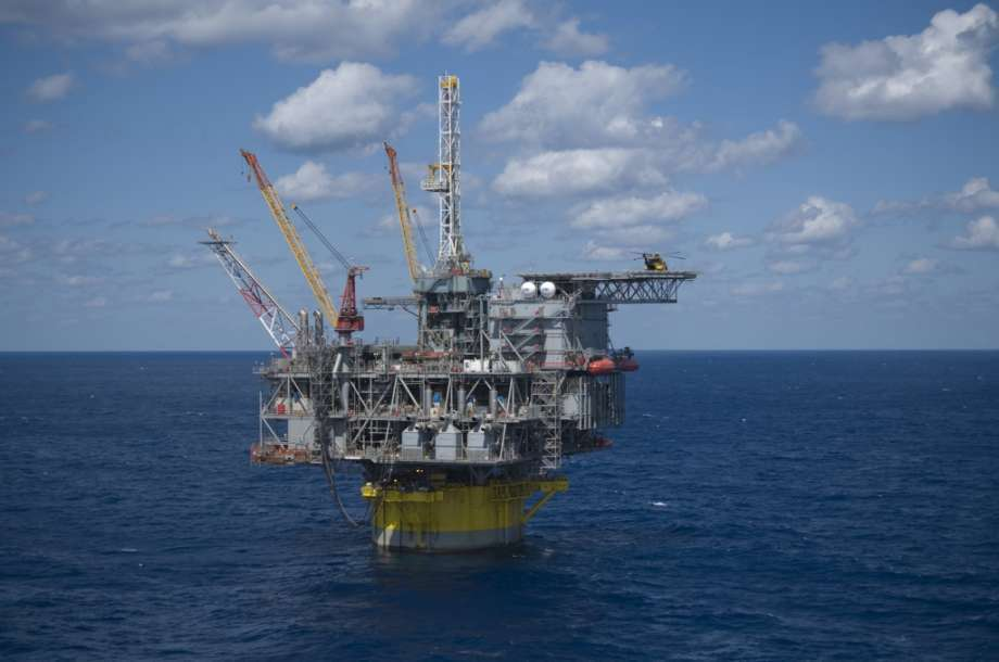 A Shell platform in the Gulf of Mexico