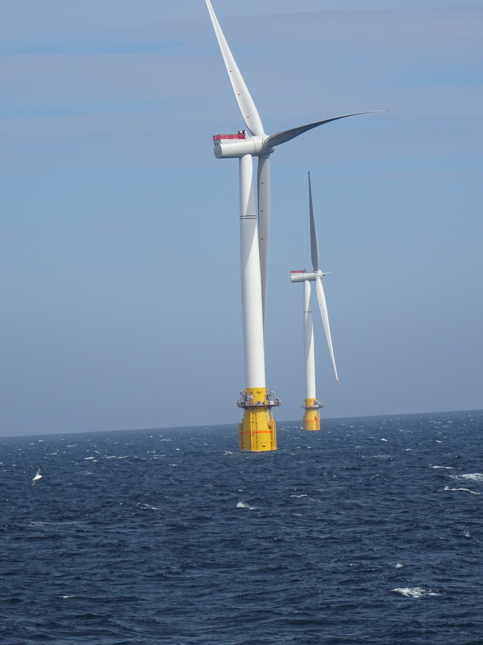 Two of the Hywind turbines