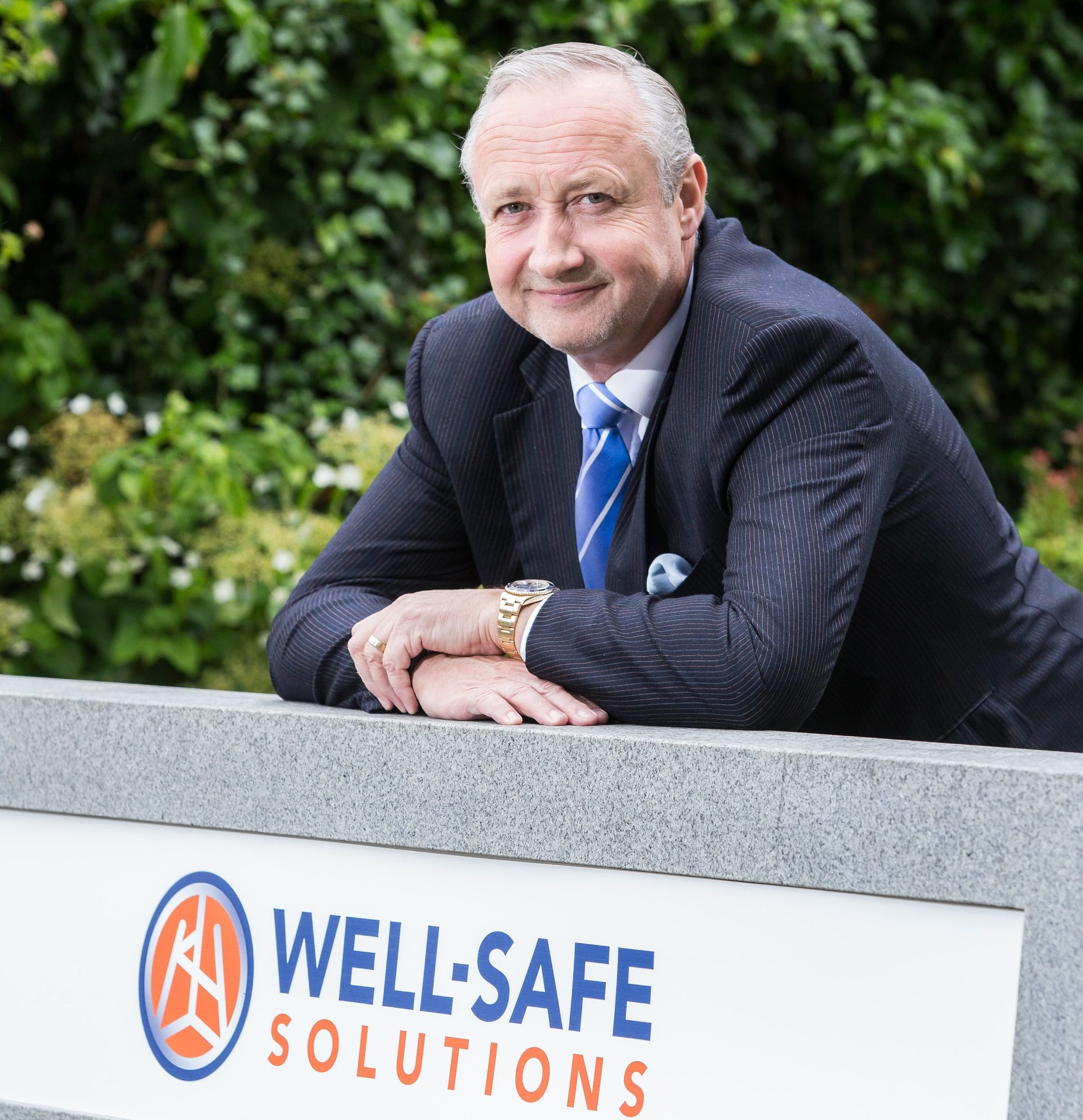 Mark Patterson, executive director of Well-Safe Solutions.