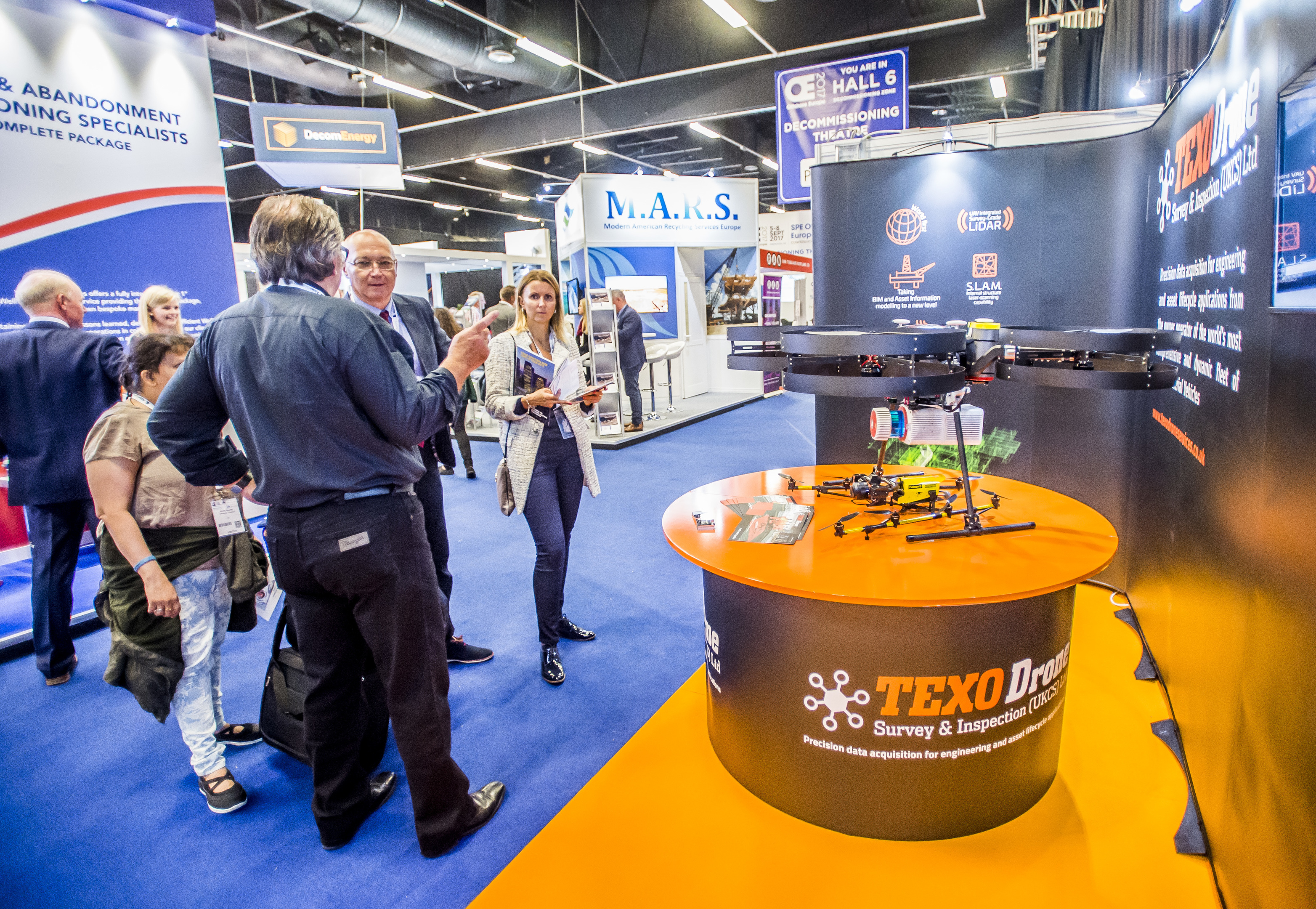 OFFSHORE EUROPE 2017  Photographs by Alan Peebles