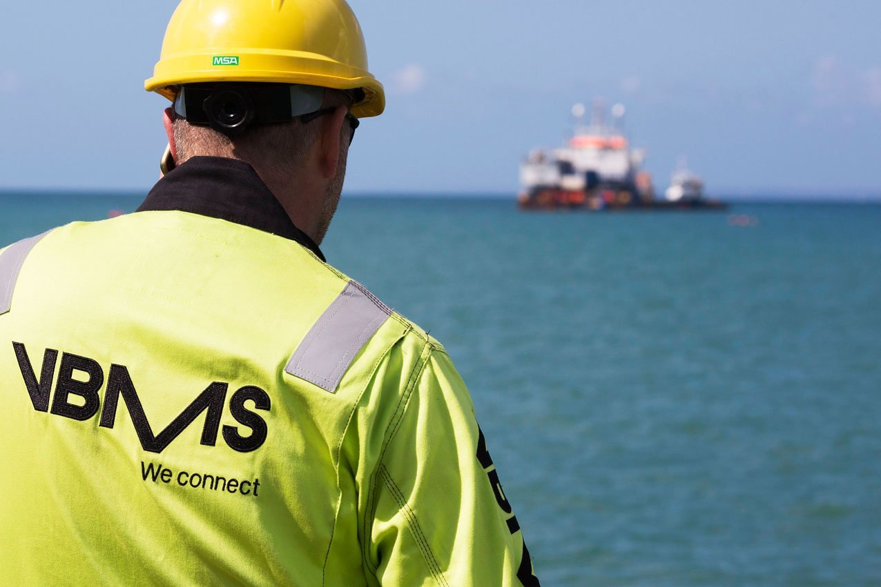 VBMS has been chosen to lay cables for a UK offshore wind farm project.