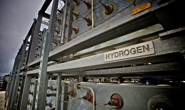 The worlds first green hydrogen.