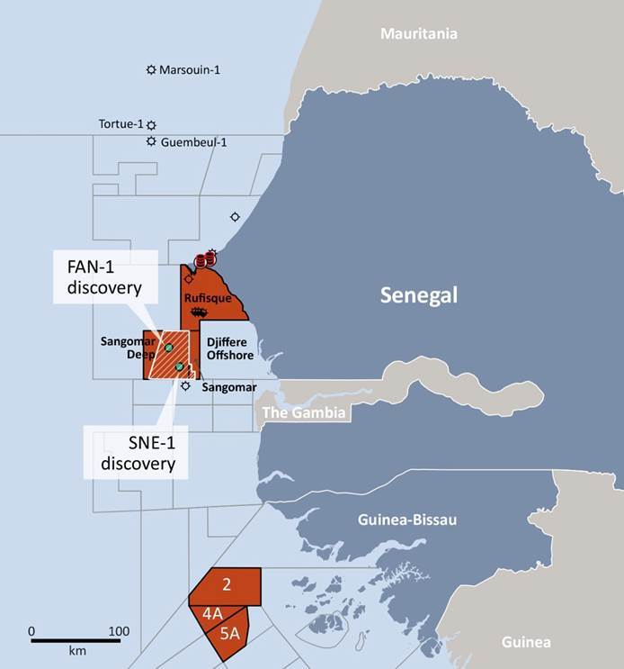 Far's assets in Senegal