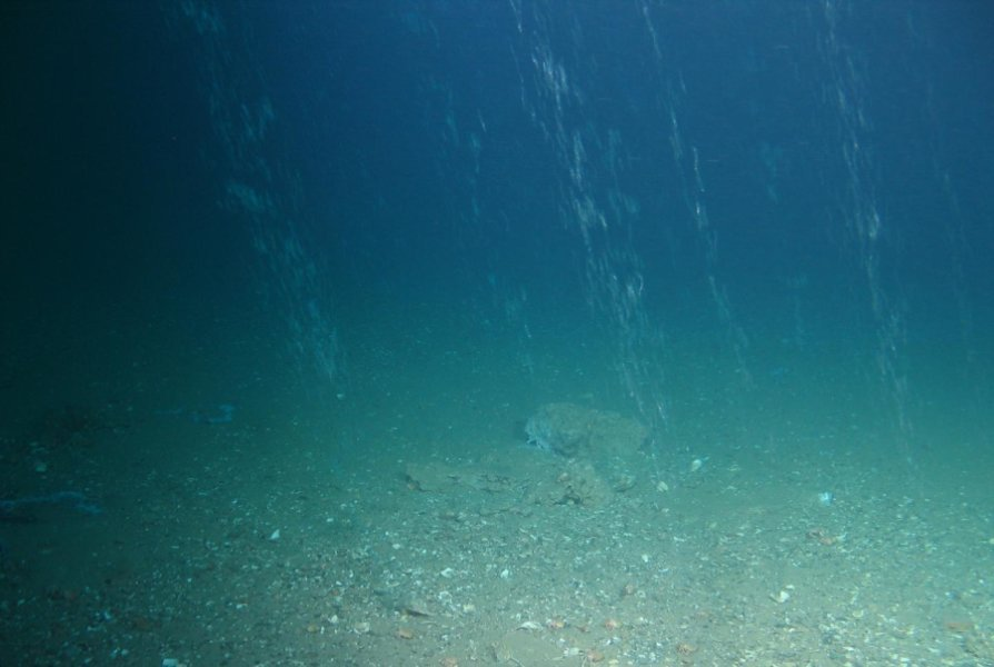 Methane could cause serious North Sea problems.