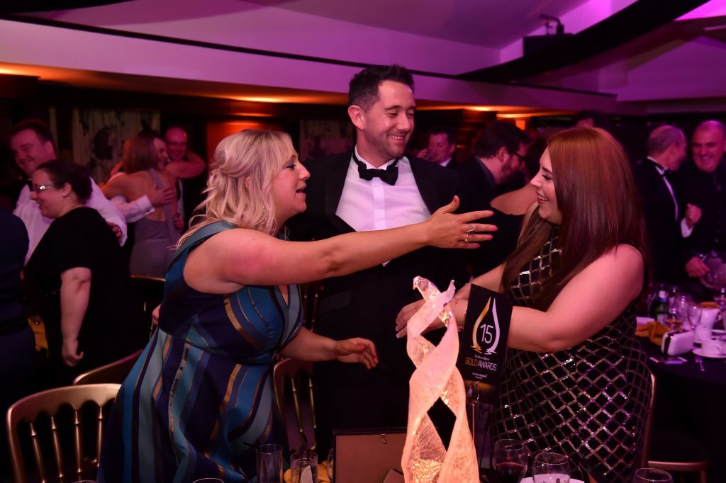 Press & Journal's Gold Awards 2017, at the Marcliffe Hotel.  Picture by KENNY ELRICK     08/09/2017