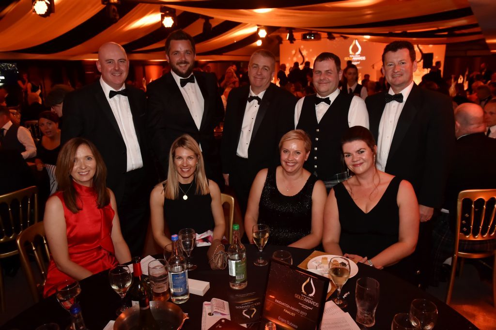 Press & Journal's Gold Awards 2017, at the Marcliffe Hotel.  Picture of table 21 Enpro Subsea.  Picture by KENNY ELRICK     08/09/2017