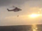 VIDEO: Offshore rescue chopper gets up close with lifeboat