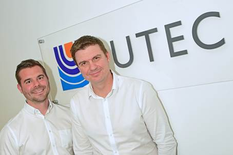 Jonathan Watt and Mick Elmslie, Business Unit Directors of Europe and Africa at UTEC