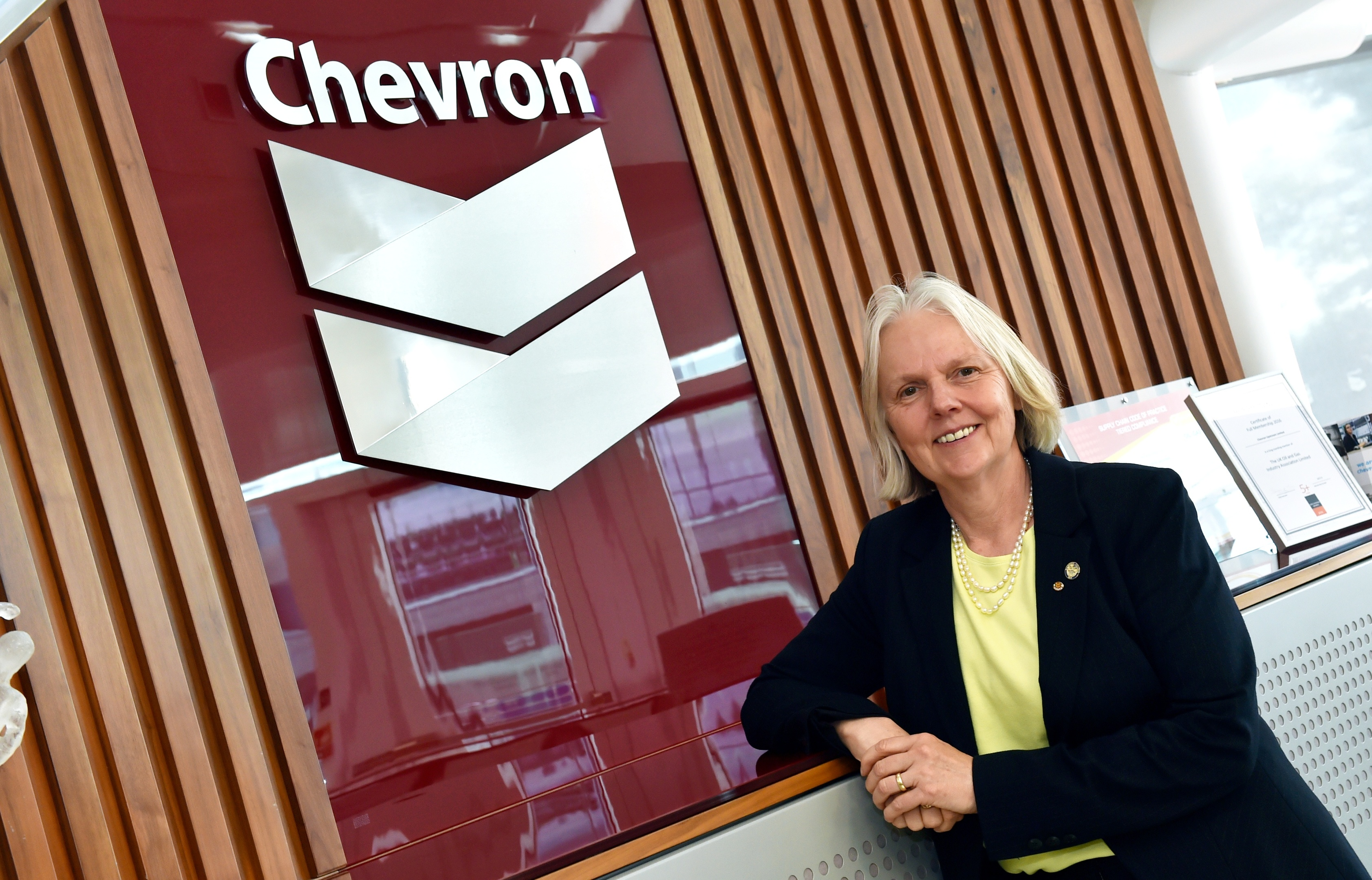 Greta Lydecker, managing director of Chevron Upstream Europe.