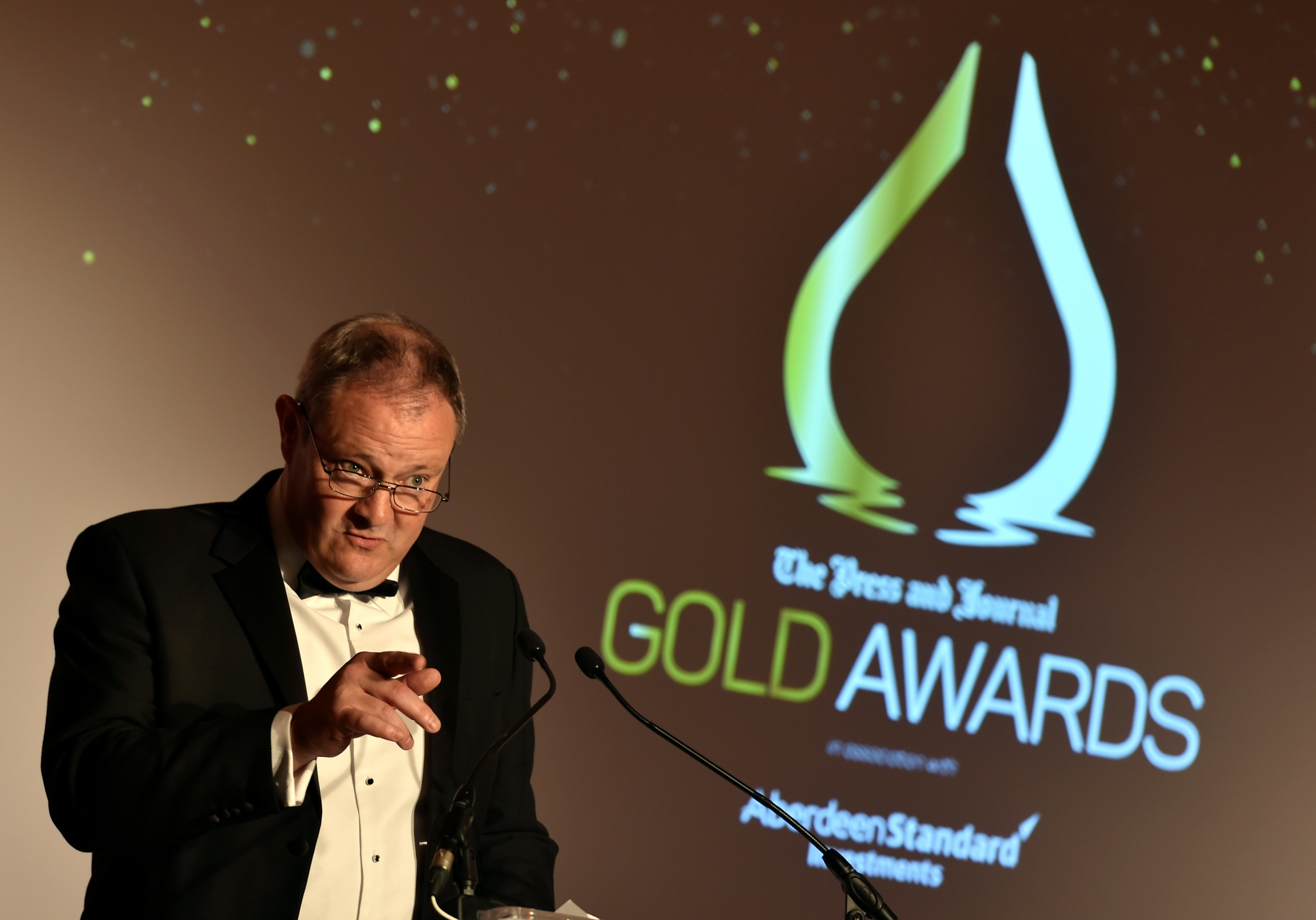 Gold awards held at the Marcliffe Hotel and Spa, Aberdeen. Richard Neville. Picture by COLIN RENNIE September 8, 2017.