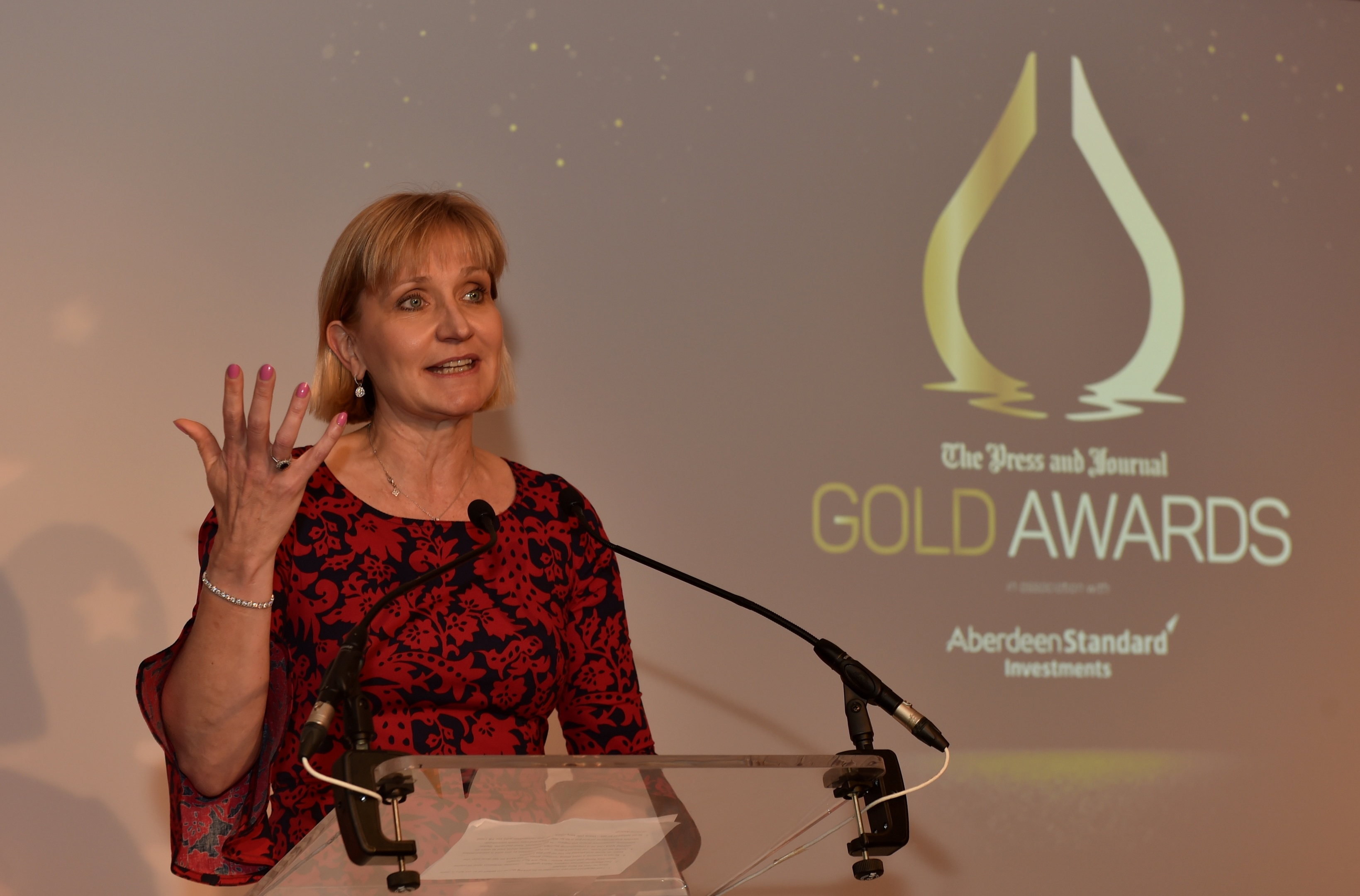 Gold awards held at the Marcliffe Hotel and Spa, Aberdeen. Deirdre Michie. Picture by COLIN RENNIE September 8, 2017.