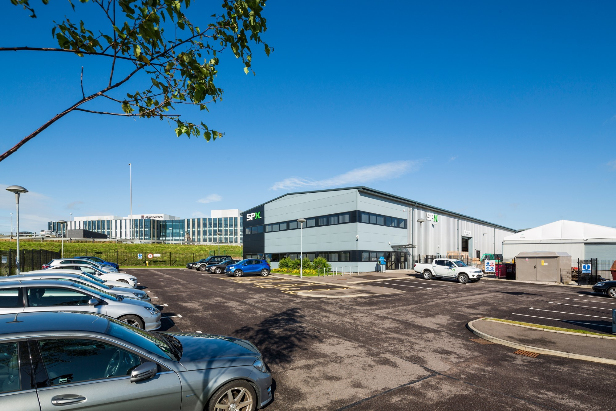 SPX Flow's facility in Dyce, Aberdeen.