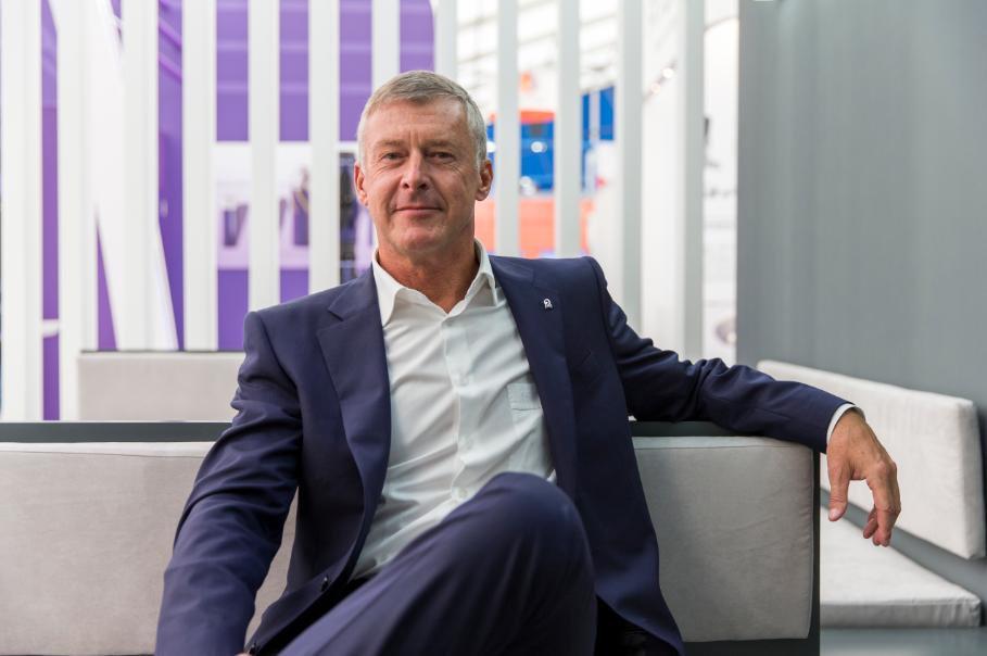 Bilfinger CEO Tom Blades