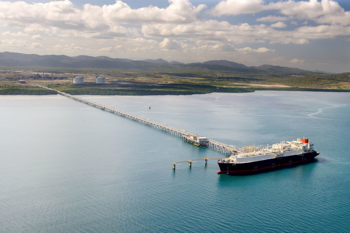 The PNG LNG project in Papua New Guinea