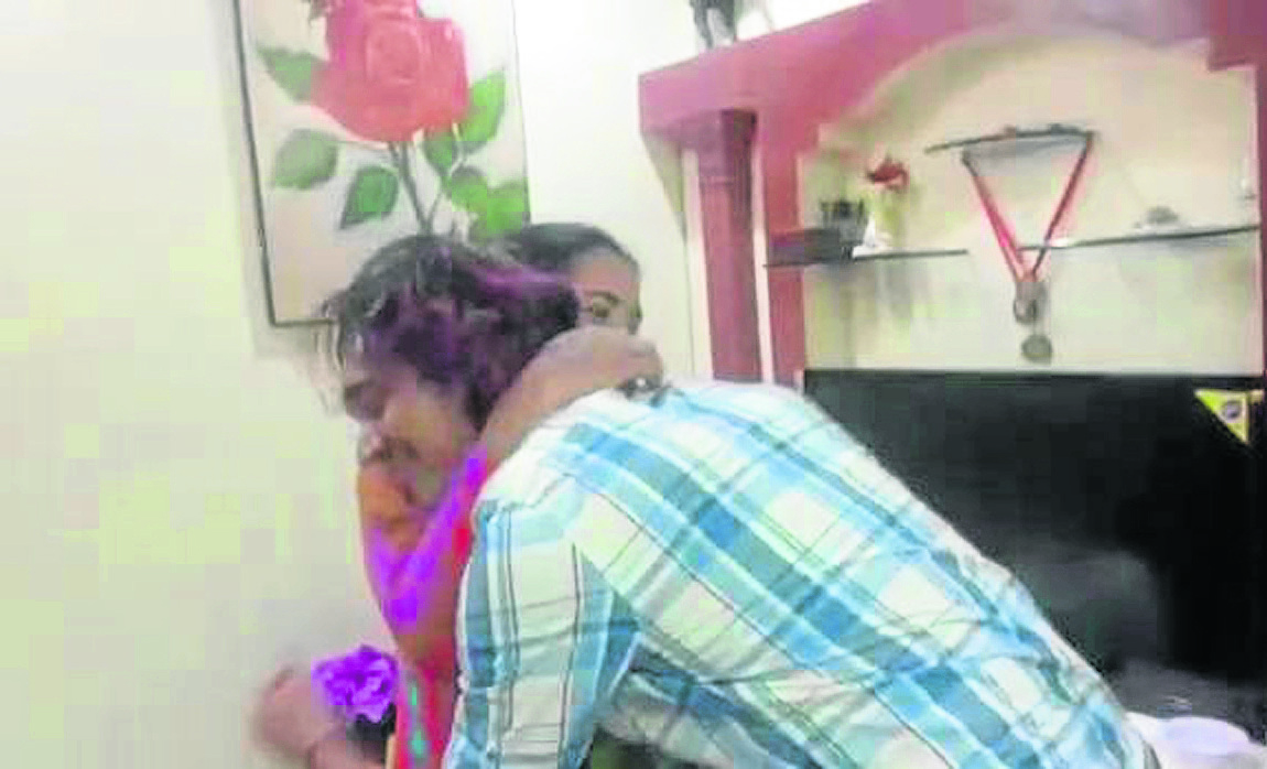 Malaviya Seven Malaviya Seven's Second Officer Rahul Sharma suprises his mother after arriving home.