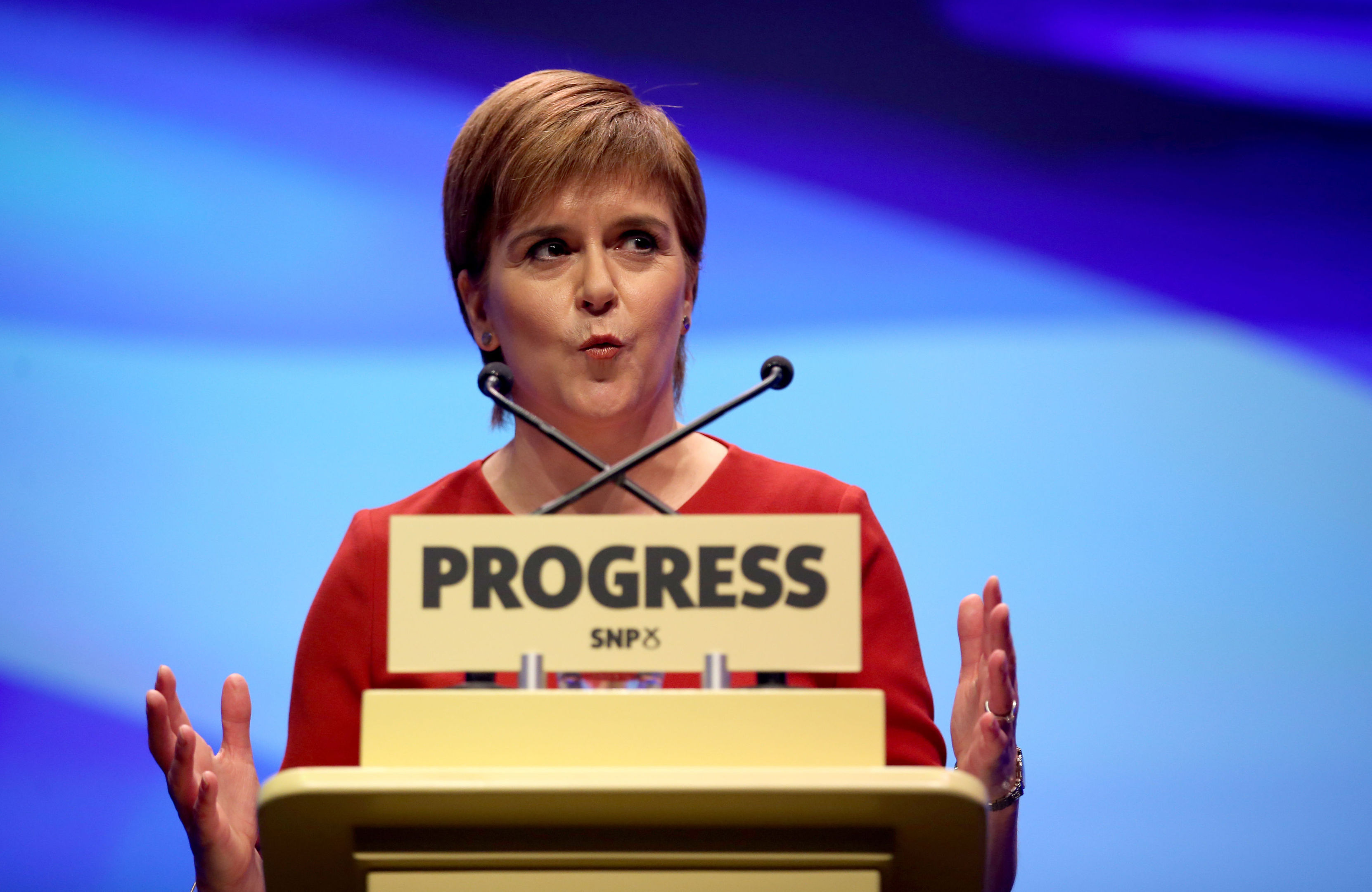 First Minister Nicola