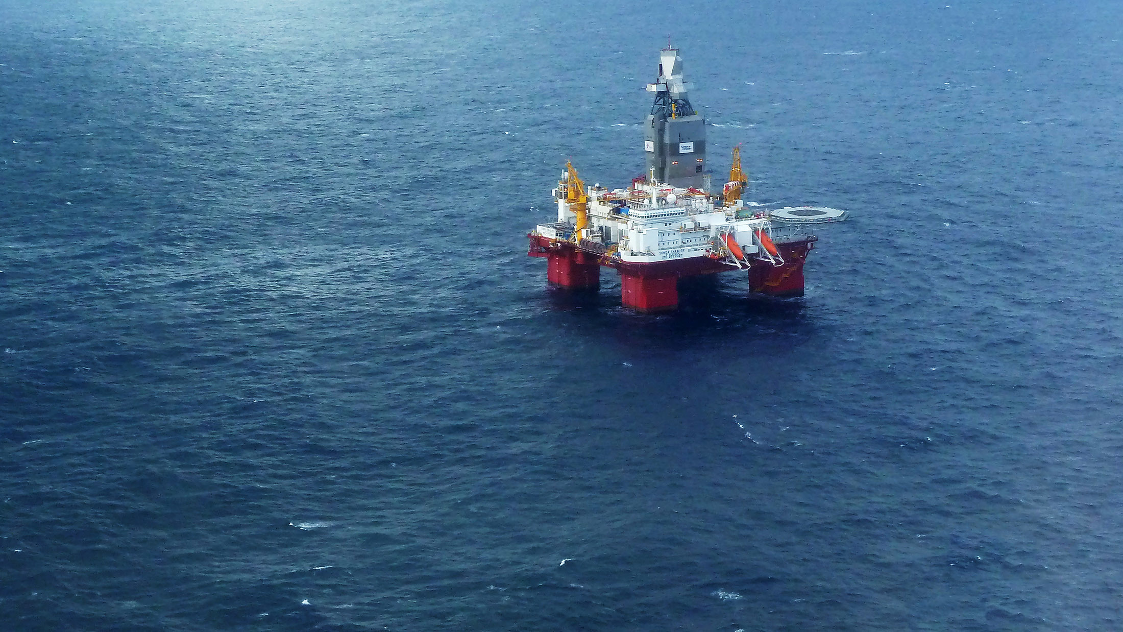 The Songa Offshore Songa Enabler rig,