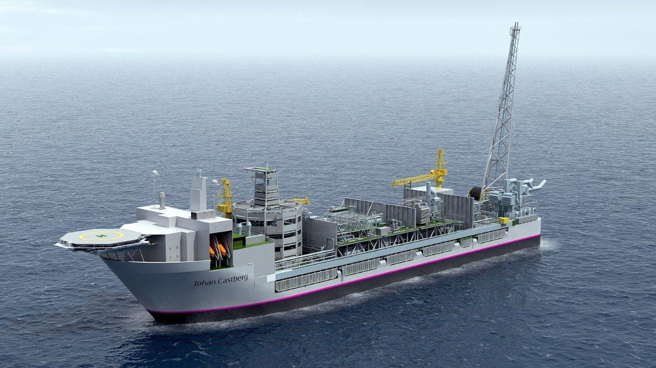 Johan Castberg floating production vessel