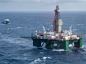 The semi-submersible drilling rig Leiv Eiriksson
