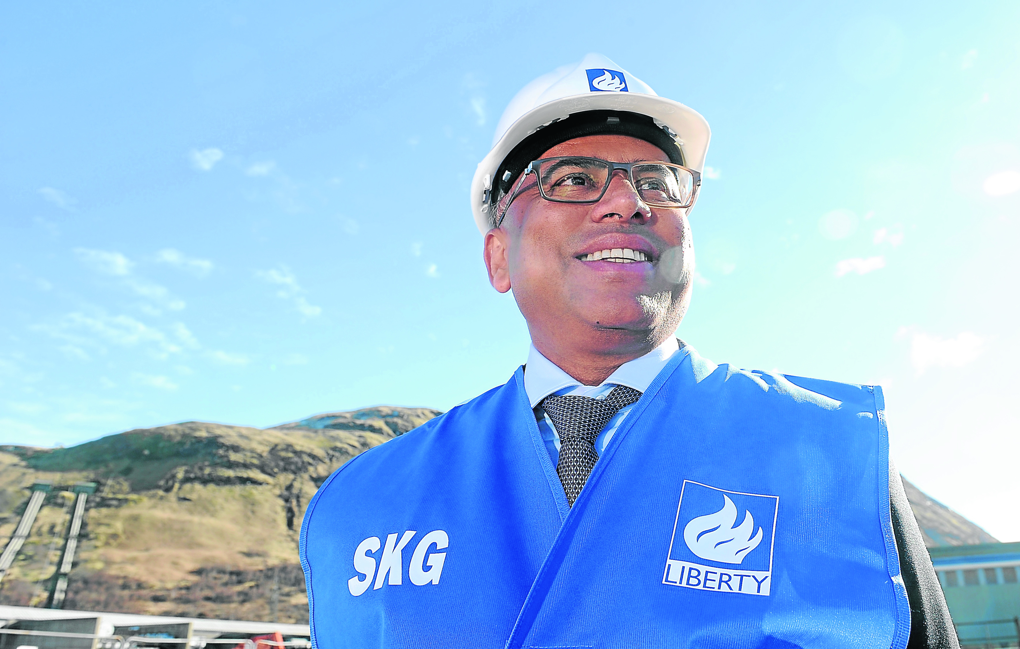 Sanjeev Gupta is branching out into tidal power in Scotland