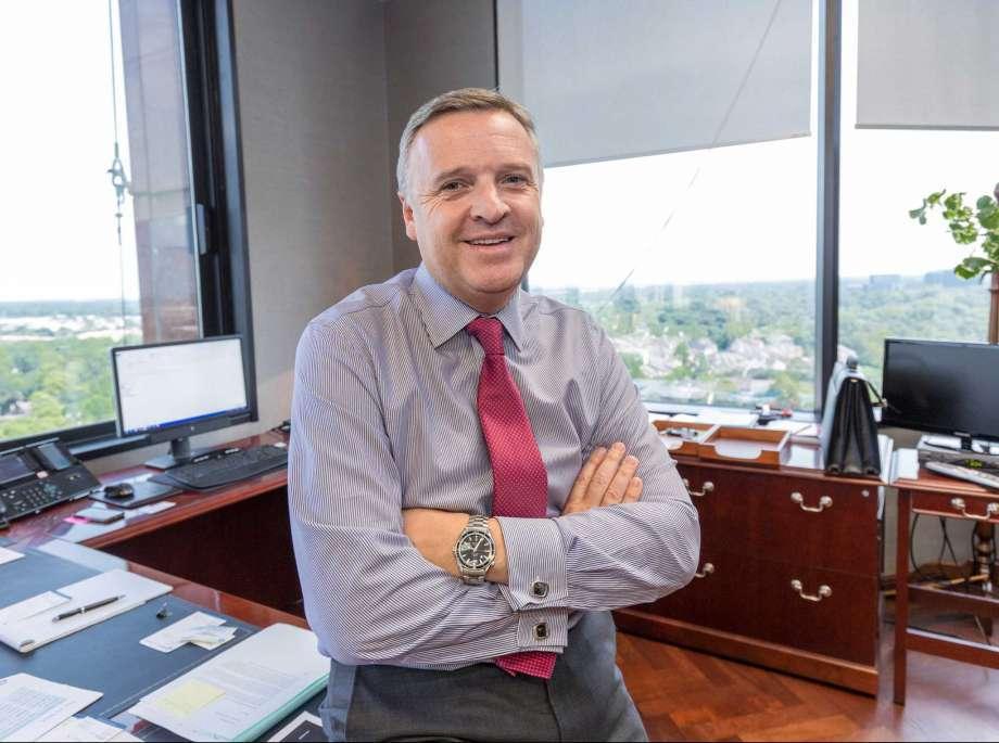 David Dickson, president and CEO of McDermott