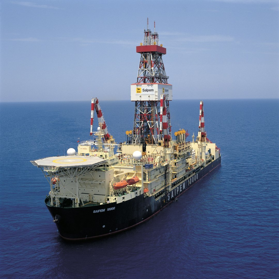 Eni ship trapped off Cyprus has been forced to turn back.
