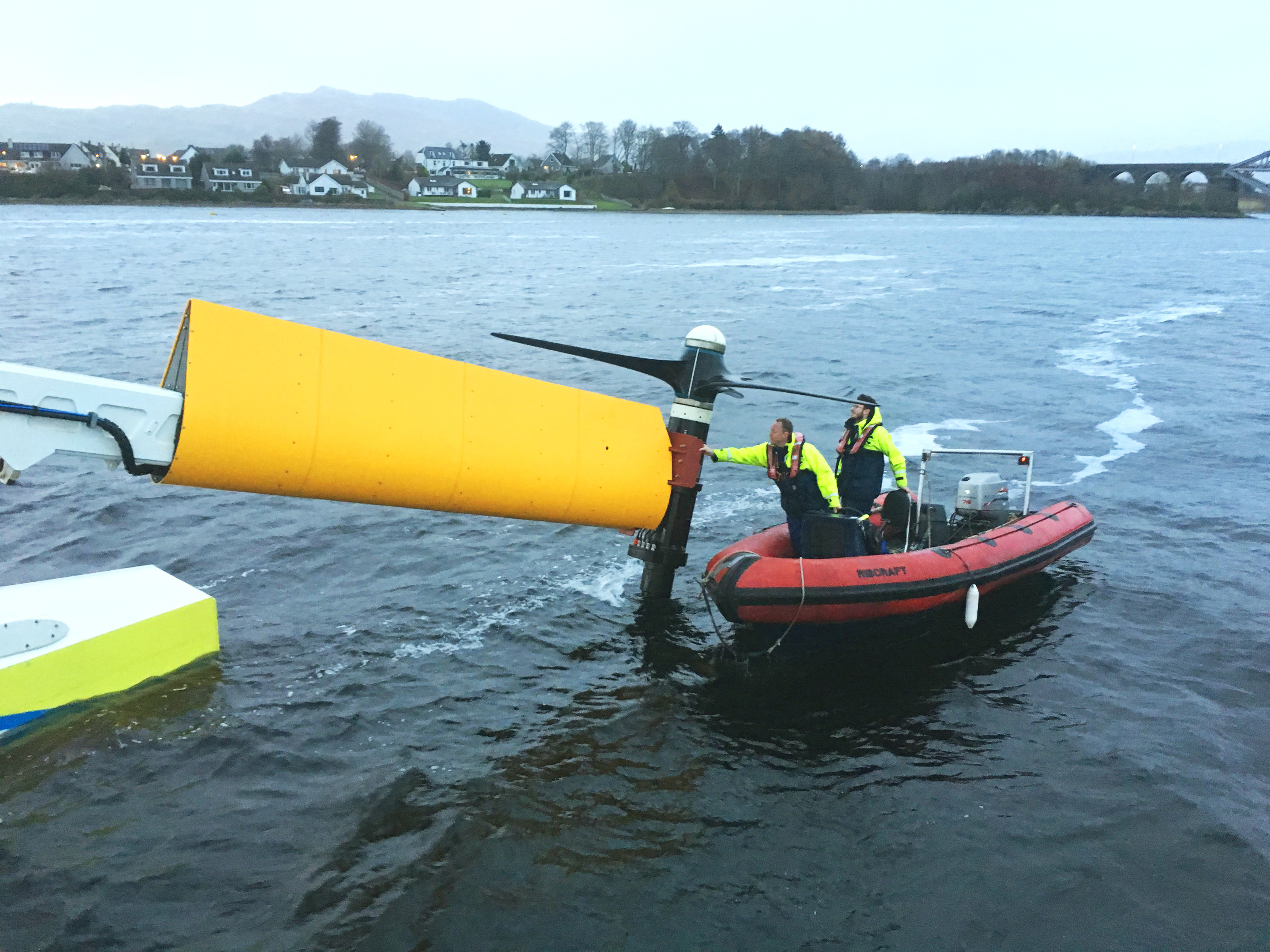 The PLAT-I tidal energy system .