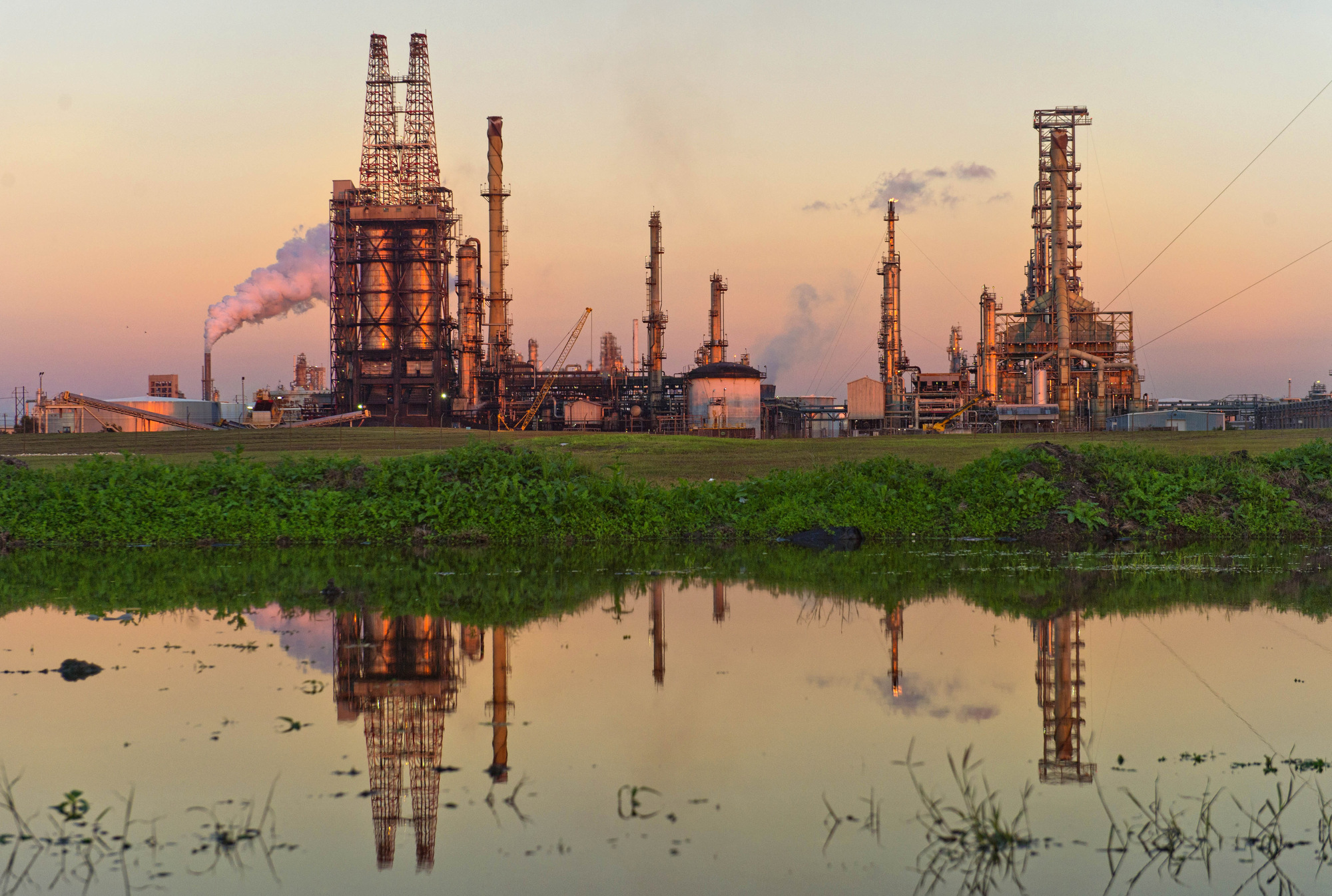 A Citgo oil refinery stands in Corpus Christi, Texas, U.S. Photographer: Eddie Seal/Bloomberg